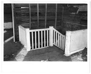 Primary view of object titled 'Landing in the Interior of a House'.
