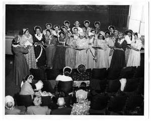 Primary view of object titled 'ABC Belles Singing'.