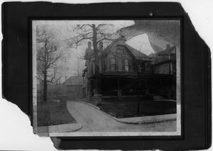 Primary view of object titled '[Photograph of Dr. E. D. Moten's House]'.