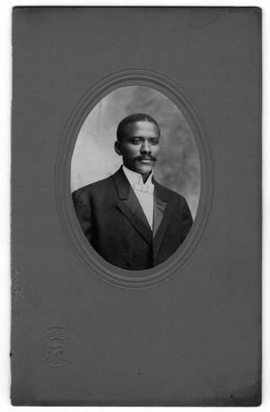 Primary view of object titled '[Mounted Portrait of Dr. E. D. Moten]'.