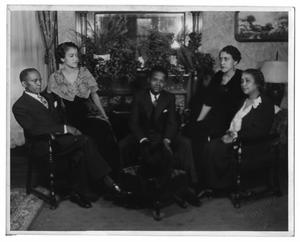 Primary view of object titled '[Photograph of the Moten Family]'.