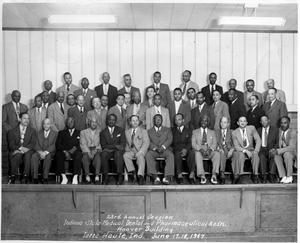 [Portrait of the Indiana State Medical, Dental, and Pharmaceutical Association]