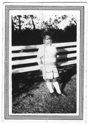 Primary view of object titled '[Photograph of E. D. Moten, Jr.]'.