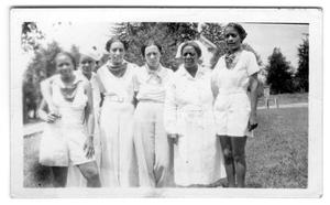 Primary view of object titled '[Group of African American Women]'.