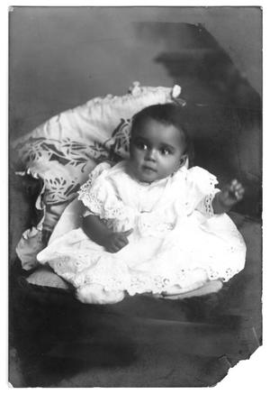 Primary view of object titled '[Photograph of Myrtle Moten]'.