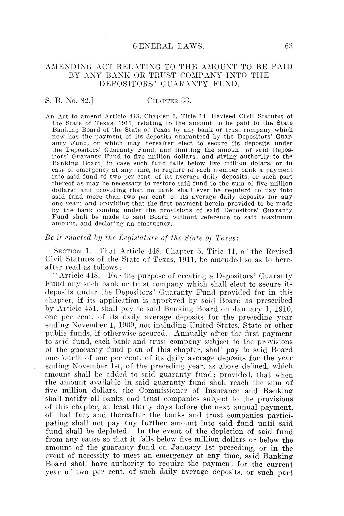 The Laws of Texas, 1921 [Volume 21]                                                                                                      [Sequence #]: 71 of 1670