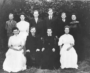 Primary view of object titled 'Charles Behrens Family'.
