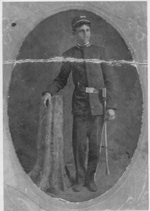 Primary view of object titled 'Man in Brigade Uniform'.