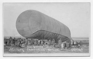 Primary view of object titled '[Military Observation Balloon]'.