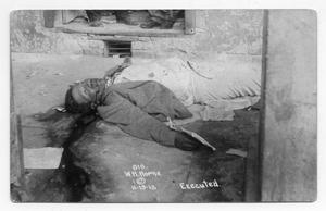 Primary view of object titled '[Executed Man]'.