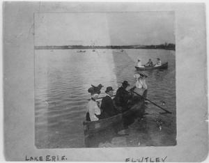 Primary view of object titled 'Men and Women on Lake Erie'.