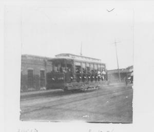 Primary view of object titled 'Street Car on Main Street'.