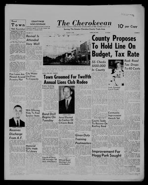 The Cherokeean. (Rusk, Tex.), Vol. 113, No. 7, Ed. 1 Thursday, August 4, 1960