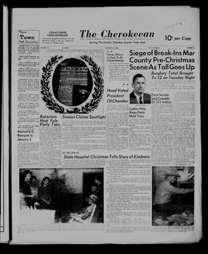 Primary view of object titled 'The Cherokeean. (Rusk, Tex.), Vol. 113, No. 27, Ed. 1 Thursday, December 22, 1960'.