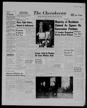 Primary view of object titled 'The Cherokeean. (Rusk, Tex.), Vol. 113, No. 29, Ed. 1 Thursday, January 5, 1961'.