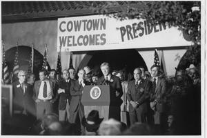 Primary view of object titled 'Jimmy Carter Speech in Fort Worth'.