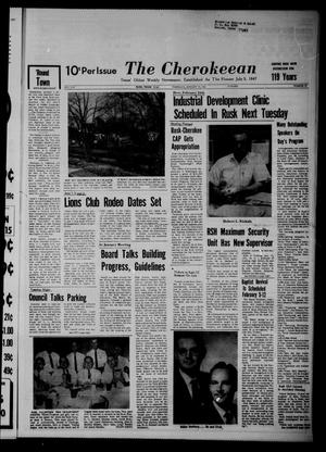 Primary view of object titled 'The Cherokeean. (Rusk, Tex.), Vol. 119, No. 32, Ed. 1 Thursday, January 19, 1967'.