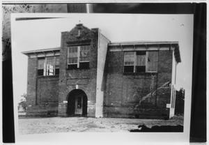 Primary view of object titled 'Building That Was Probably a School'.