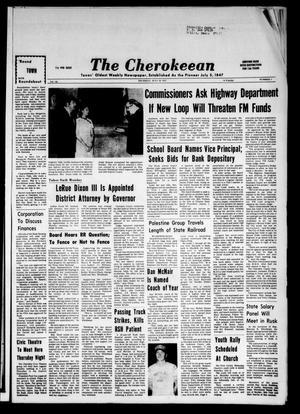 The Cherokeean. (Rusk, Tex.), Vol. 126, No. 7, Ed. 1 Thursday, July 19, 1973