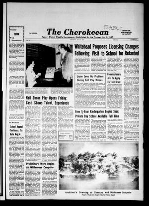The Cherokeean. (Rusk, Tex.), Vol. 126, No. 8, Ed. 1 Thursday, July 26, 1973