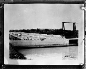 Primary view of object titled '[Concrete canal]'.