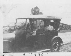 "Primary view of object titled '[An automobile titled ""A '490'""]'."