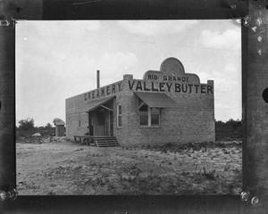 Primary view of object titled 'Rio Grande Valley Butter Creamery building'.