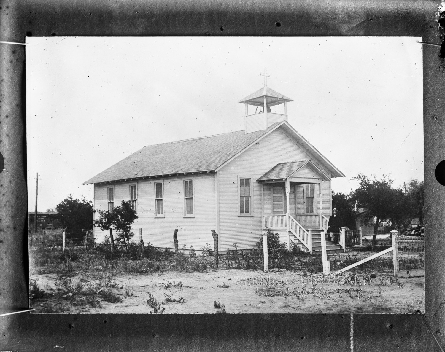 [German Lutheran Church, Mercedes, Texas]                                                                                                      [Sequence #]: 1 of 1