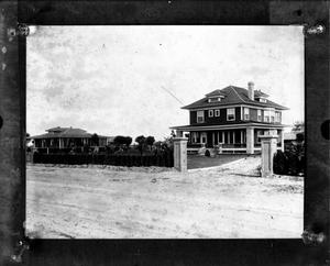 Primary view of object titled '[Unidentified building from the Shary Collection]'.