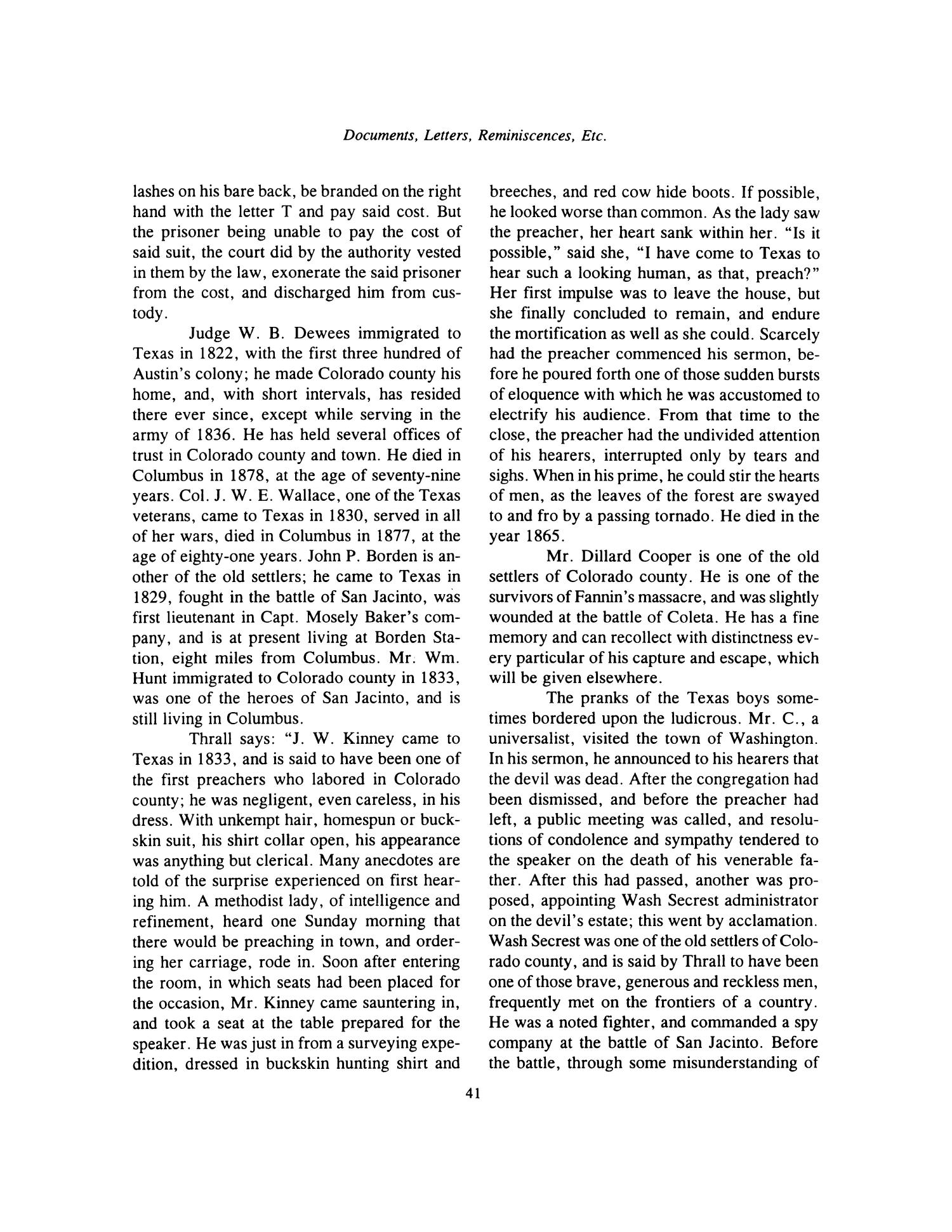 Nesbitt Memorial Library Journal, Volume 8, Number 1, January, 1998                                                                                                      41