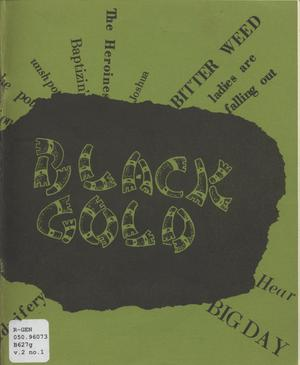 Primary view of object titled 'Black Gold, Volume 2, Number 1, 1976'.