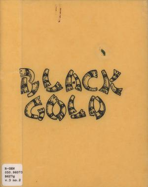 Primary view of object titled 'Black Gold, Volume 3, Number 2, 1977'.