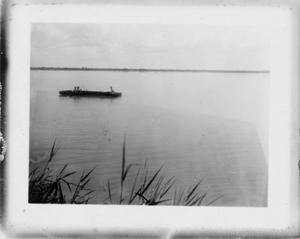 Primary view of object titled '[Boat on the Rio Grande]'.