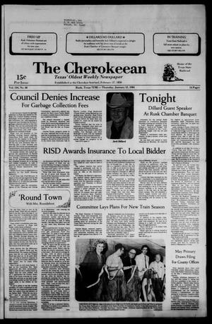 The Cherokeean. (Rusk, Tex.), Vol. 134, No. 48, Ed. 1 Thursday, January 12, 1984