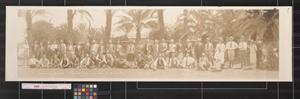 Primary view of object titled 'Southwestern Land Co. excursion party in the Lower Rio Grande Valley'.