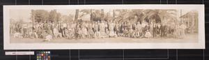 Primary view of object titled 'Southwestern Land Co. at Sharyland, Tex. excursion party in Lower Rio Grande Valley'.