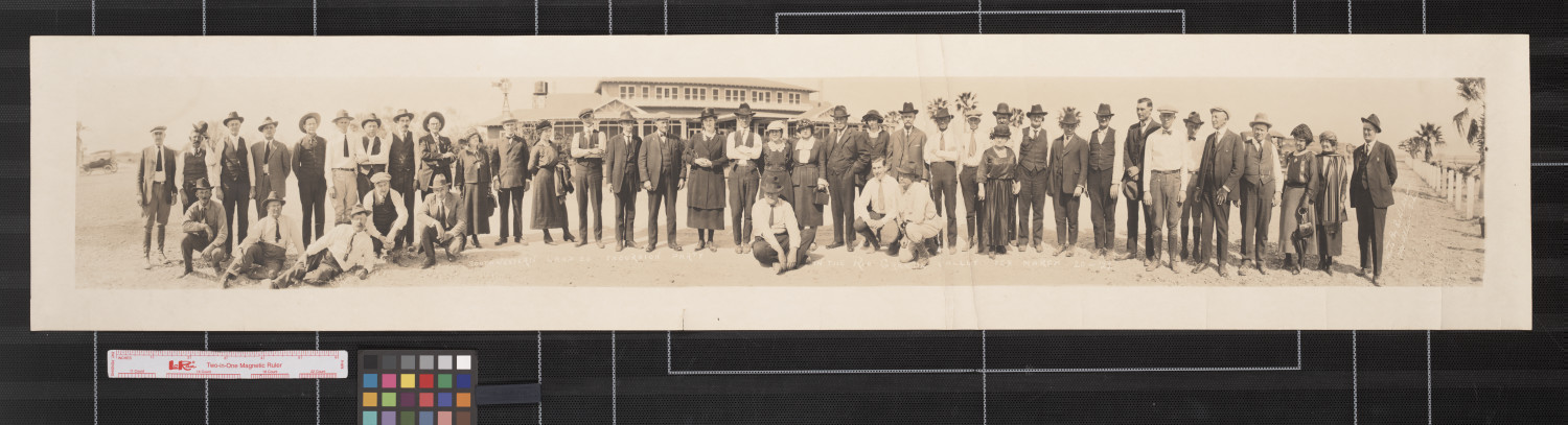 Southwestern Land Co. excursion party in the Rio Grande Valley, Tex.                                                                                                      [Sequence #]: 1 of 1