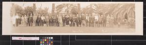 Primary view of object titled 'Southwestern Land Co. excursion party'.
