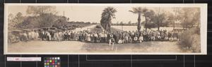 Primary view of object titled 'Southwestern Land Co. excursion at Sharyland - the home of the grape fruit'.