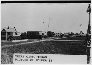 [Texas City Post Office in 1908]