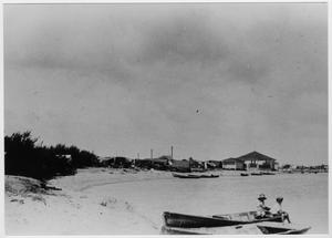 [Boaters at the Texas City Dike in 1929]