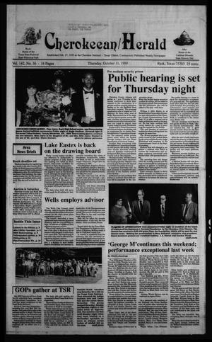 Cherokeean/Herald (Rusk, Tex.), Vol. 142, No. 36, Ed. 1 Thursday, October 11, 1990