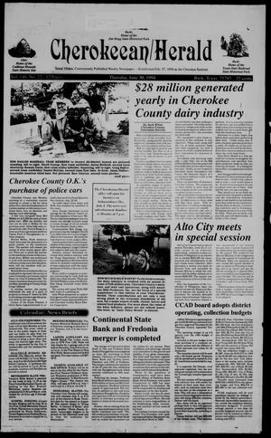 Primary view of object titled 'Cherokeean/Herald (Rusk, Tex.), Vol. 146, No. 22, Ed. 1 Thursday, June 30, 1994'.