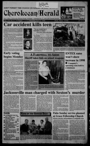 Cherokeean/Herald (Rusk, Tex.), Vol. 149, No. 6, Ed. 1 Thursday, April 2, 1998
