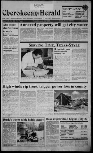 Cherokeean/Herald (Rusk, Tex.), Vol. 149, No. 22, Ed. 1 Thursday, July 23, 1998