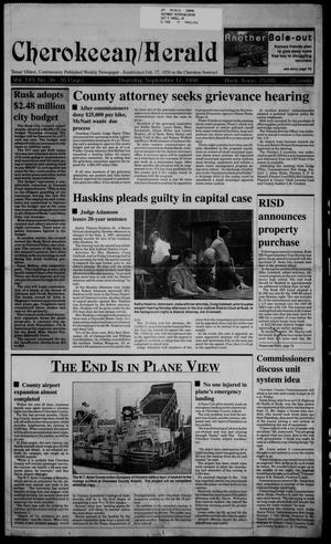 Cherokeean/Herald (Rusk, Tex.), Vol. 149, No. 30, Ed. 1 Thursday, September 17, 1998
