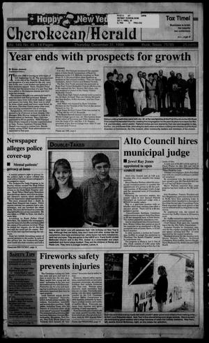 Cherokeean/Herald (Rusk, Tex.), Vol. 149, No. 45, Ed. 1 Thursday, December 31, 1998