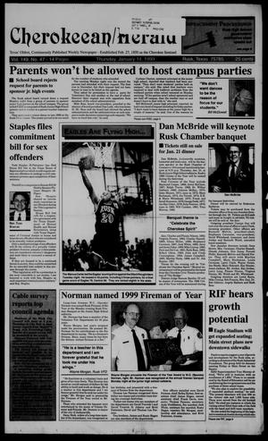 Cherokeean/Herald (Rusk, Tex.), Vol. 149, No. 47, Ed. 1 Thursday, January 14, 1999