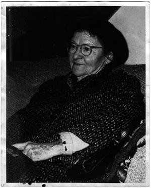 Primary view of object titled '[Helen Edmunds Moore in her later years]'.