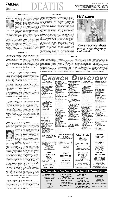 Cherokeean Herald (Rusk, Tex ), Vol  156, No  16, Ed  1
